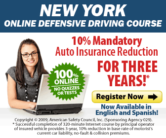 New York, NY.  Auto / Car  Insurance